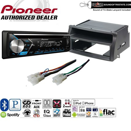 Pioneer DEH-S4000BT Double Din Radio Install Kit with Bluetooth, CD Player, USB/AUX Fits 2003-2008 Toyota Corolla DOES NOT WORK WITH JBL