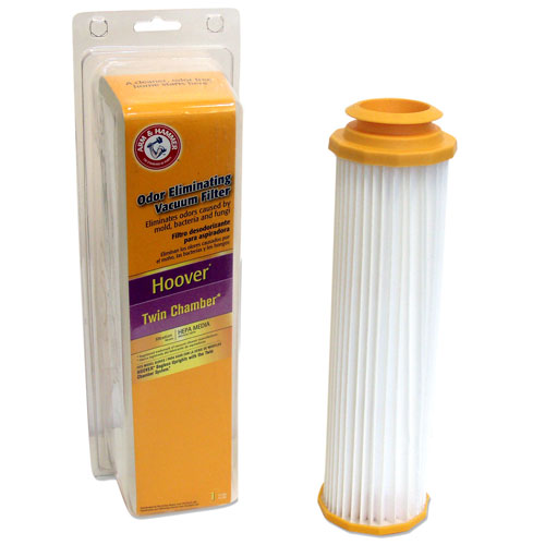 Arm & Hammer Odor Eliminating Vacuum Filters, Hoover �� Twin Chamber with HEPA