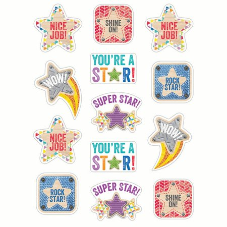 STAR REWARD STICKERS UPCYCLE - Upcycle Halloween Crafts