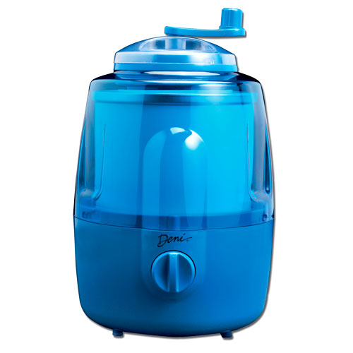 Deni Automatic Ice Cream Maker with Candy Crusher, Blueberry