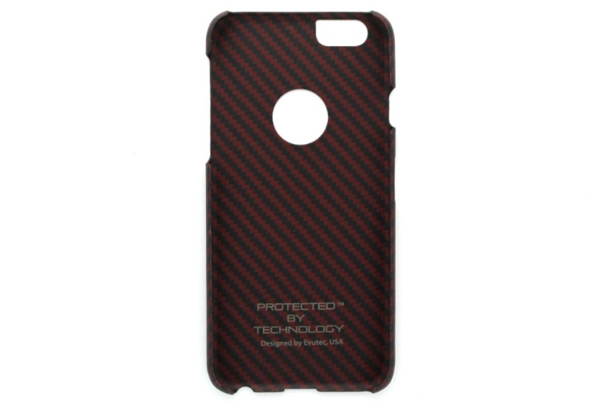 best sneakers ab0ab 5af30 Evutec Karbon S Case for Apple iPhone 6 6s - Red/Black