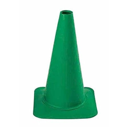 Everrich Evb 0016 4 12 In  Height Plastic Cones   Green