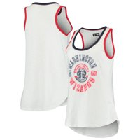 Washington Wizards G-III 4Her by Carl Banks Women's Reverse Standing Sueded Slub Tank Top - White