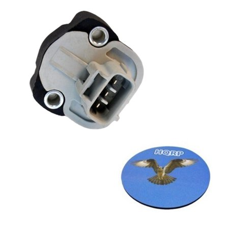 HQRP Throttle Position Sensor TPS for Dodge Ram 1500 / 2500 / 3500 Van 99 00 01 02 03 1999 2000 2001 2002 2003 + HQRP Coaster