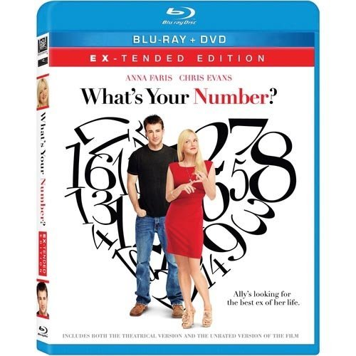 What's Your Number? (Blu-ray   DVD) (With INSTAWATCH) (Widescreen)