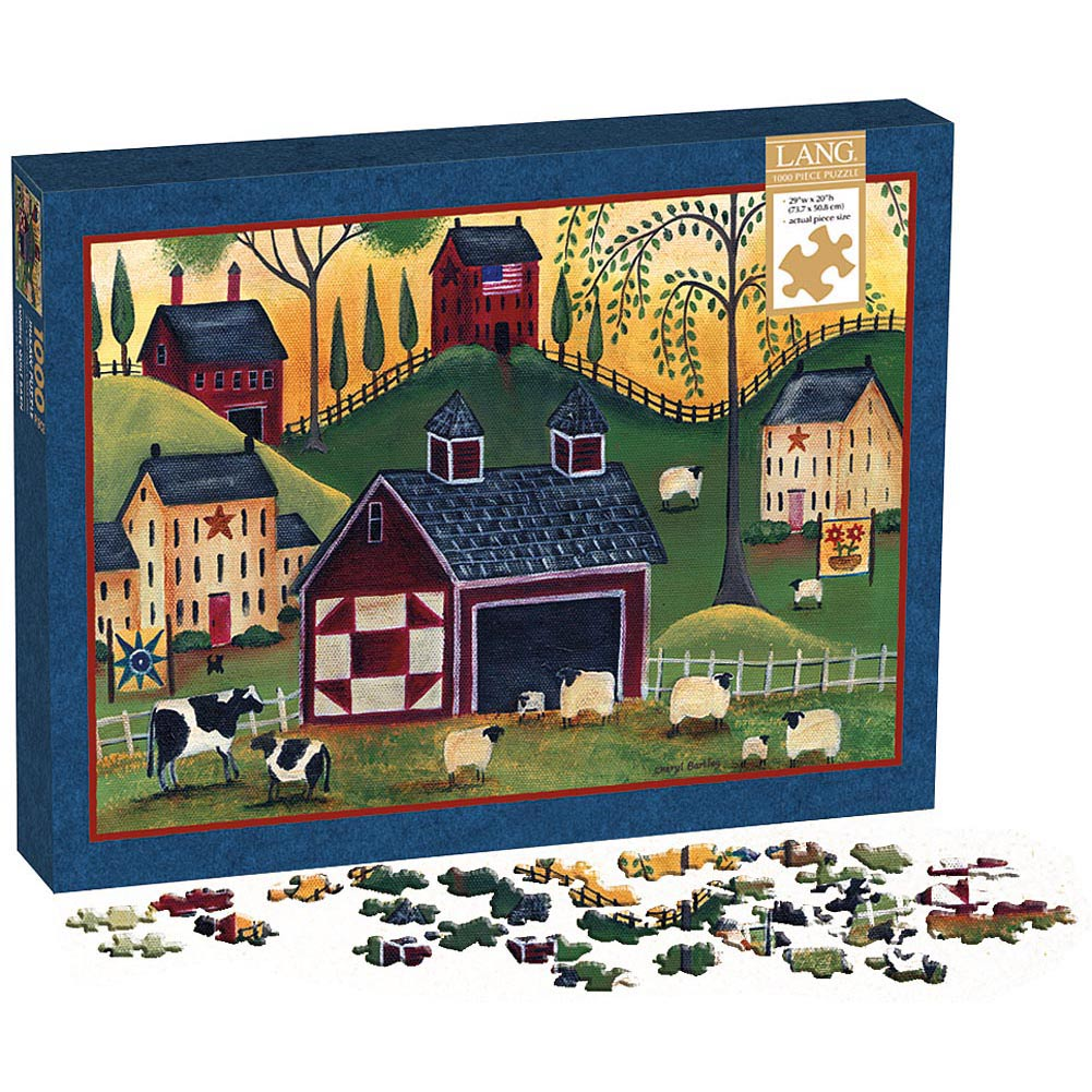 Sunrise Quilt Barn 1000 Piece Puzzle