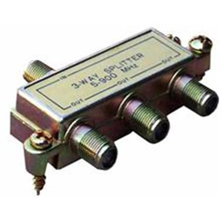 Morris Products 45040 3 Way Splitters 5-900 Mhz - image 1 of 1