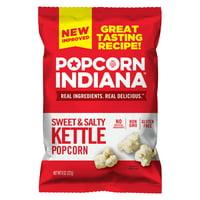 Popcorn, Indiana Kettle Corn Popcorn, 8 Oz.