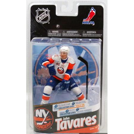 low priced b6c03 89dd5 McFarlane NHL Sports Picks Series 24 John Tavares Action Figure [White  Jersey]