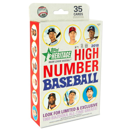2018 Topps Heritage High Number Baseball Hanger Box Trading Cards