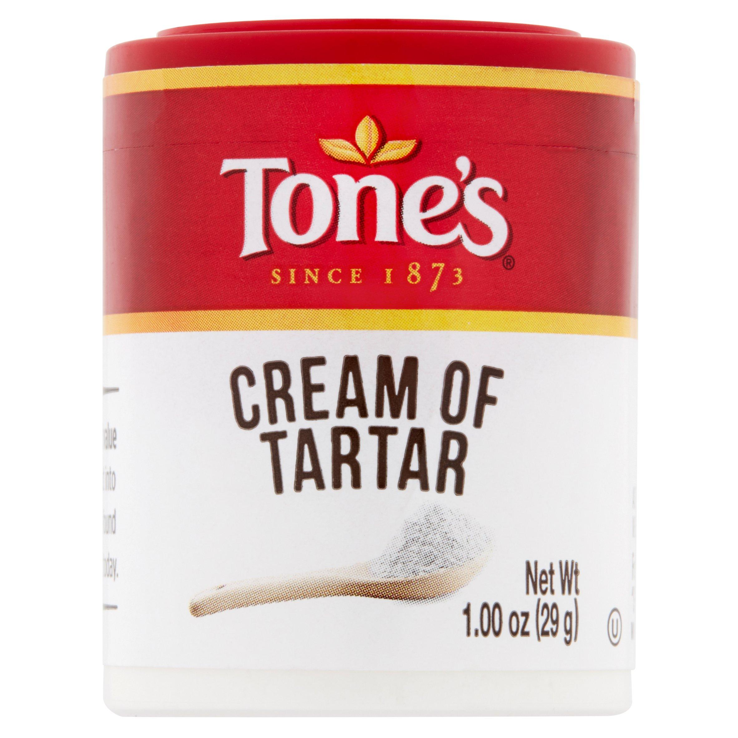 (4 Pack) Tone's Cream of Tartar, 1.00 oz