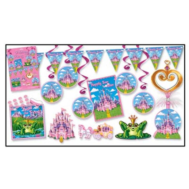 Beistle 55025 Princess Party Kit - Pack of 6