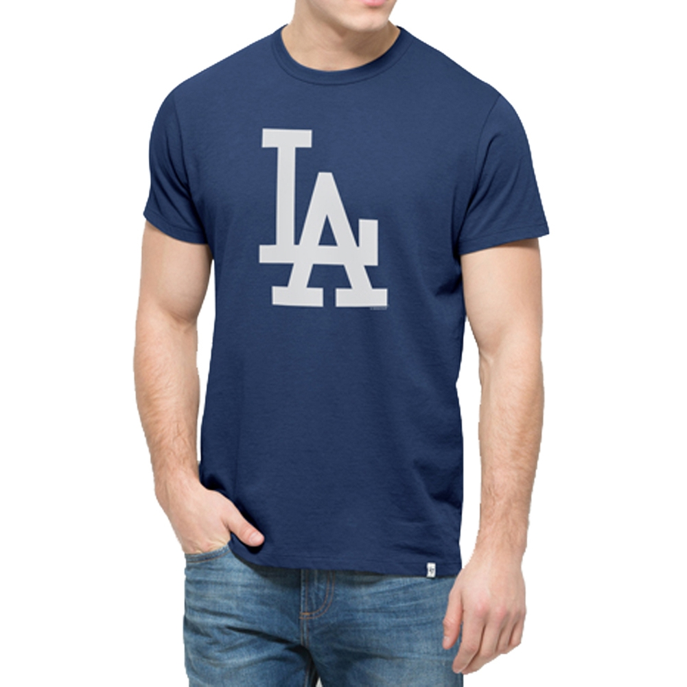 Los Angeles Dodgers - All Pro Flanker Logo T-Shirt