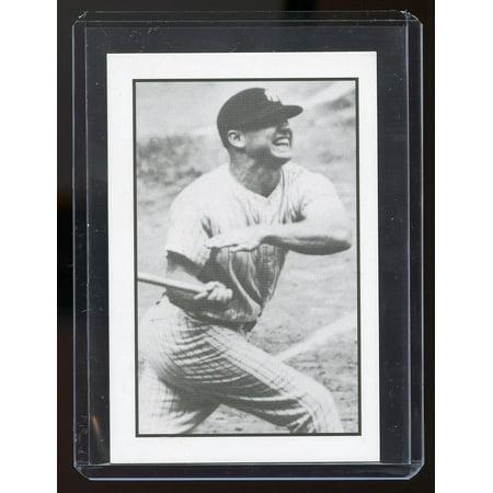 1984 Gallaso Baseball Collector Series #20 Mickey Mantle Yankees Card