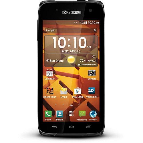 Boost Kyocera Icon Prepaid Smartphone