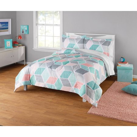 Your Zone Geo Comforter Set, 1 Each