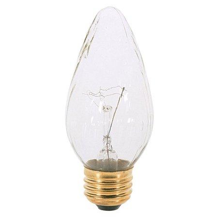 Satco S3369 40W 120V F15 Aurora E26 Medium Base Incandescent light bulb F15 Medium Base