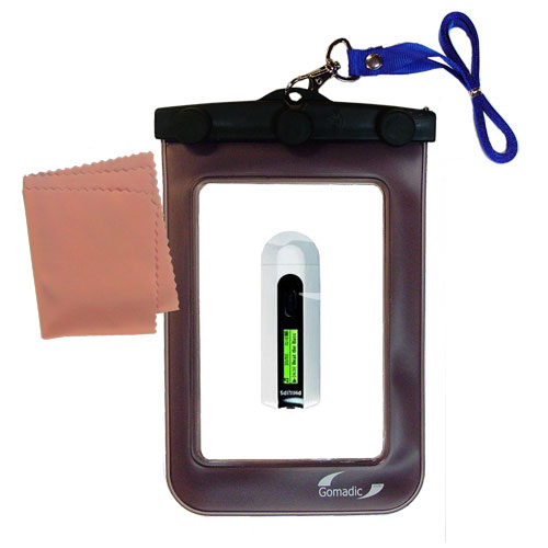 Gomadic Clean and Dry Waterproof Protective Case Suitablefor the Philips GoGear SA2110/37 to use Underwater