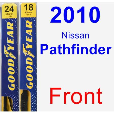 2010 Nissan Pathfinder Wiper Blade Set/Kit (Front) (2 Blades) - Premium