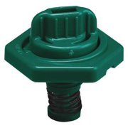 TRICO 24019 Breather Vent,HDPE,1.50 in. L,Dark Green