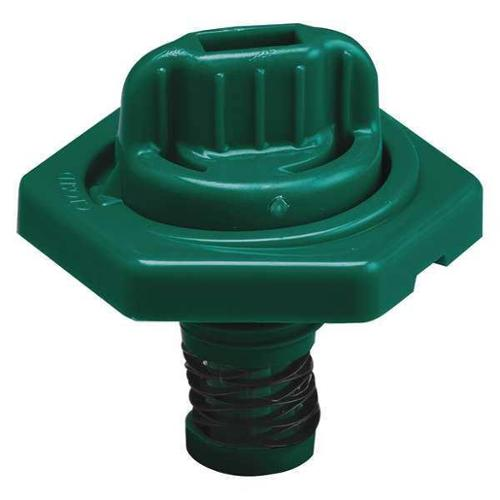 TRICO 24019 Breather Vent,HDPE,1.50 in. L,Dark Green G0379779
