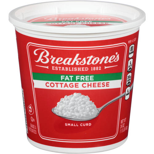 Breakstoneu0027s Small Curd Fat Free Cottage Cheese, ...