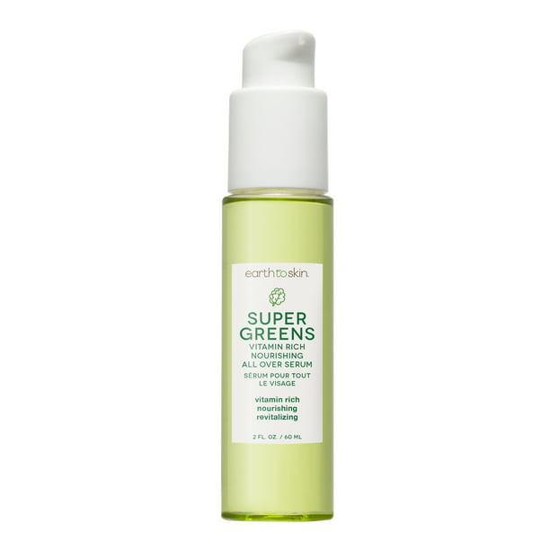 Earth to Skin Super Greens Nourshing All Over Serum, 2.03 oz