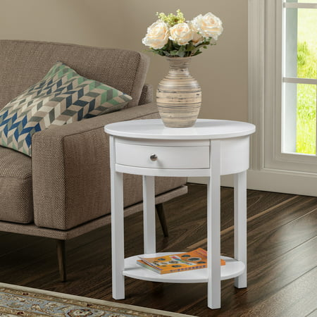 Convenience Concepts Classic Accents Cypress End Table Primo Cypress Wood Table