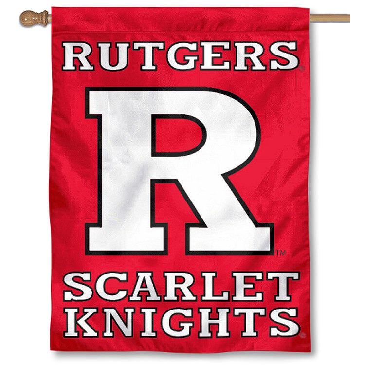 "Rutgers Scarlet Knights 30"" x 40"" Two Sided House Flag"
