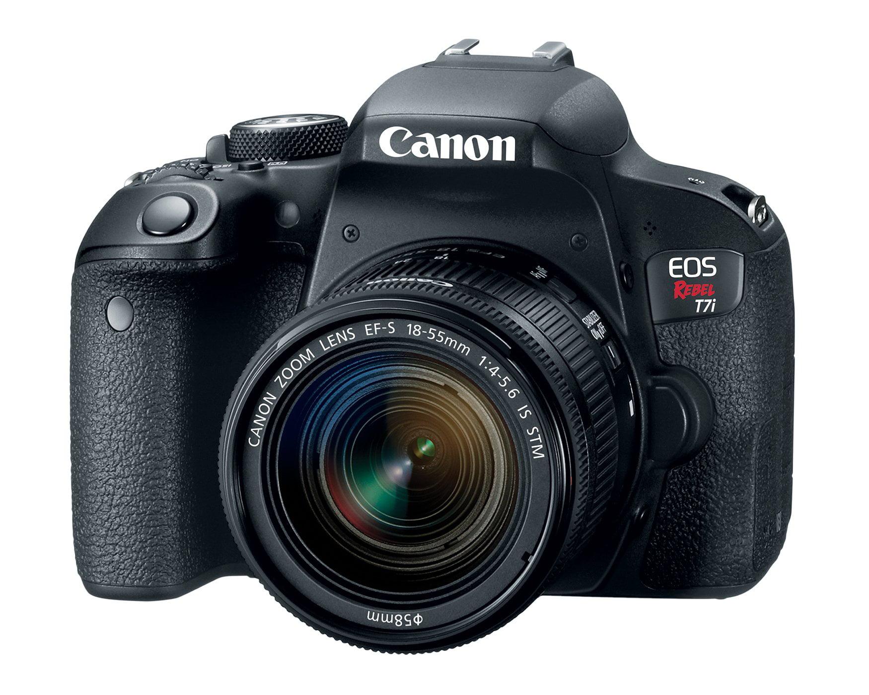 Canon Eos Rebel T7i Dslr Camera With 18 55mm Lens Walmart Com Walmart Com