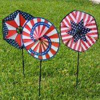 Patriotic Wind-Wheels Case Pack of 12