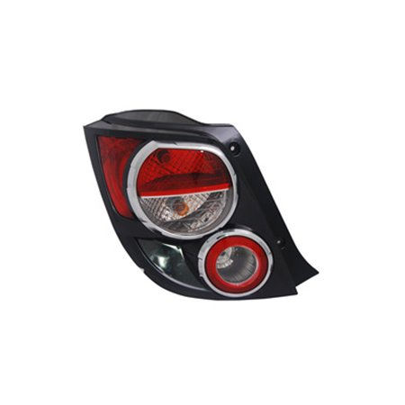 NEW TAIL LIGHT ASSEMBLY LEFT FITS 2012-2016 CHEVROLET SONIC HATCHBACK 42407868 (Tail Sonic)