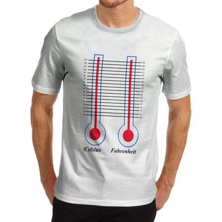 Mens T Shirt Celsius And Fahrenheit Funny Tshirts