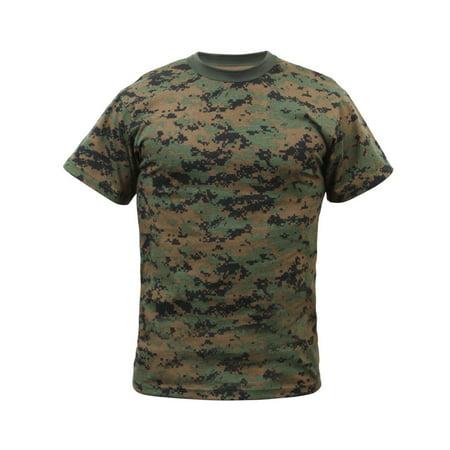 - MARPAT Woodland Digital Camo T-shirt