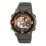 Armitron Men's Orange/Gray Digital Sport Watch
