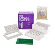 Capsule Connection 0 Capsule Machine with 500 Whole Empty 0 Gelatin Capsules