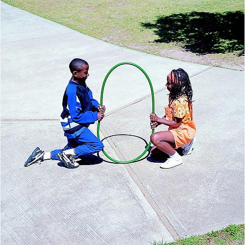 Sportime No Kink Hoop Set, Multiple Sizes, Assorted Color, Set of 12