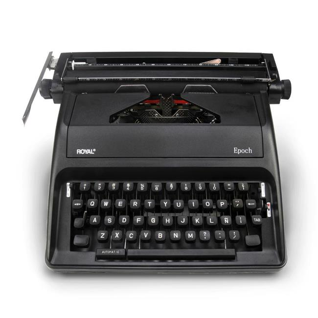 Royal Consumer Products 79102Z 11 in. Epoch Portable Manual Typewriter, Spanish