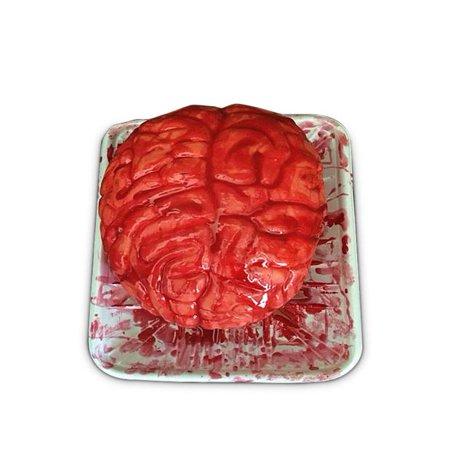 Latex Creepy Scary Halloween Bloody Emulational Human Organ Brains Tricky Toy](Scary Halloween Brain Teasers)