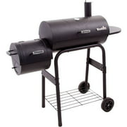 Char-Broil American Gourmet Offset Charcoal Smoker, Black