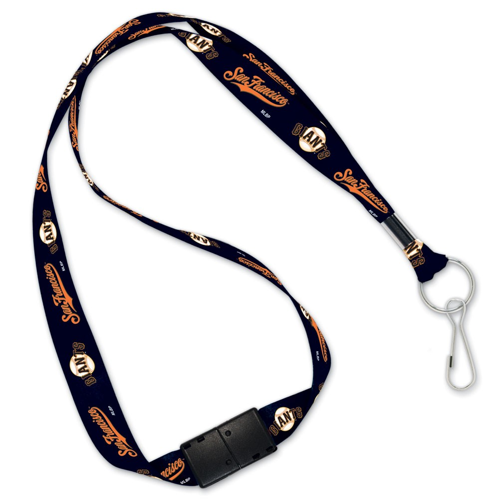 San Francisco Giants Official MLB 20 inch  Lanyard Key Chain Keychain by Wincraft