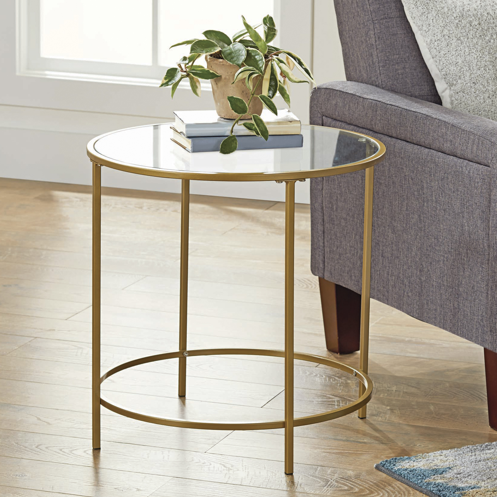 Better Homes & Gardens Nola Side Table, Multiple Finish