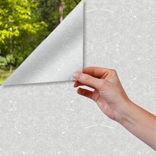 "Gila 24-Hour Privacy Rice Paper Window Film, 36"" x 6.5'"