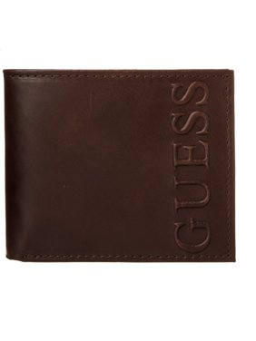 Guess Men's Fresno Passcase Wallet