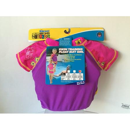 - Kids Stuff Pink and Purple Body Glove Girls Swim Training Float Suit Size 3-4 Medium