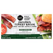 Sam's Choice Fully Cooked Uncured Turkey Bacon, 3 Oz.