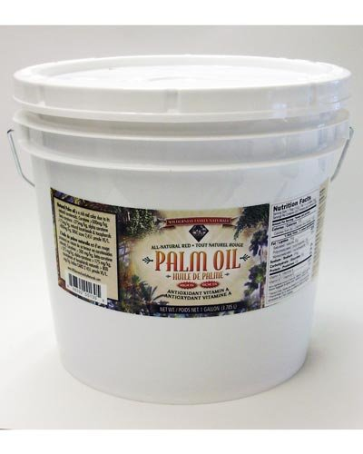 Wilderness Palm Oil, Natural Red 1 Gallon - Sustain-ably ...