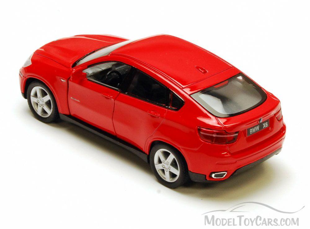 Bmw X6 Red Kinsmart 5336d 1 38 Scale Diecast Model Toy Car