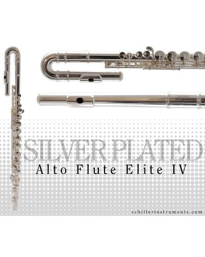 Schiller Elite IV Alto Flute
