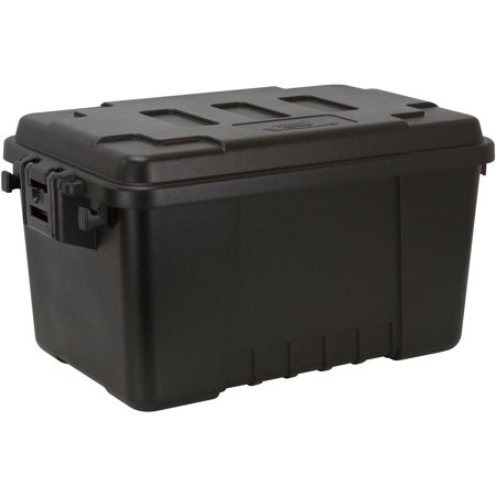 Plano 56qt Storage Trunk Black